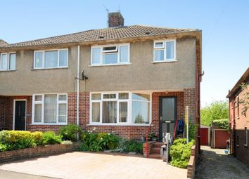 Thumbnail 3 bed semi-detached house for sale in Cedar Road, Botley, Oxford