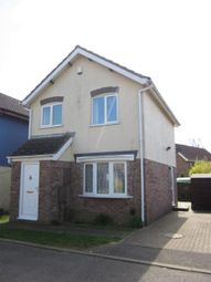 Thumbnail 3 bed detached house to rent in Thorpe Close, Wellingborough