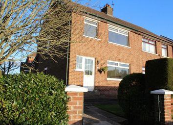 Thumbnail 3 bedroom semi-detached house to rent in Gortgrib Drive, Belfast