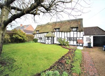 Thumbnail 4 bed detached house for sale in Church Lane, Riseley, Bedford