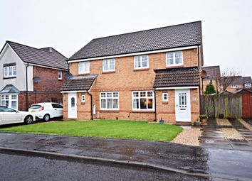 Thumbnail 3 bed semi-detached house for sale in Obree Avenue, Prestwick