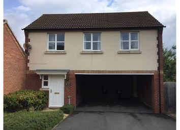 Thumbnail 2 bed link-detached house to rent in Heritage Way, Leicester