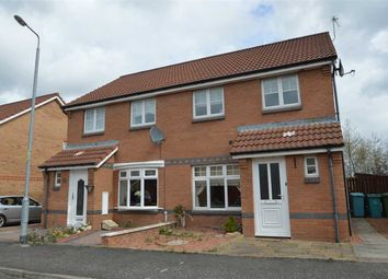 Thumbnail 3 bed semi-detached house for sale in Lammermuir Way, Chapelhall, Airdrie