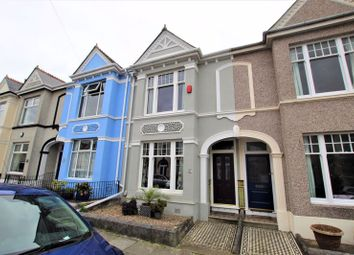 3 bed terraced house for sale in Glendower Road, Peverell, Plymouth, Devon PL3