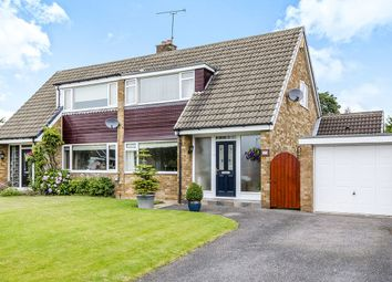 Thumbnail 3 bed semi-detached house for sale in Fair View, Pontefract