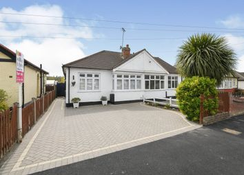 Thumbnail 2 bed semi-detached bungalow for sale in Church Road, Harold Wood, Romford