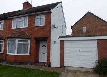 Thumbnail 3 bed semi-detached house to rent in Burleigh Road, Hinckley