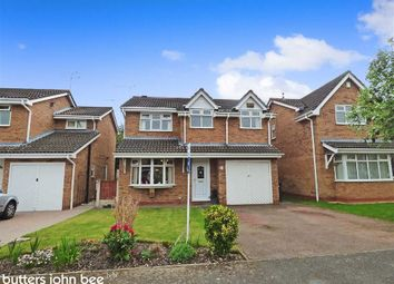 Thumbnail 4 bed detached house for sale in Ullswater Avenue, Wistaston, Crewe