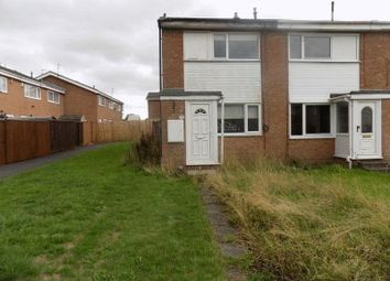 Thumbnail 2 bed end terrace house for sale in Balmoral Close, Bedlington