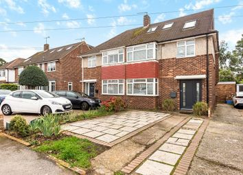 Thumbnail 4 bed semi-detached house for sale in Ashford, Middlesex