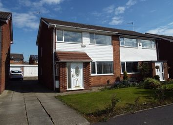 Thumbnail 3 bed semi-detached house to rent in Trinity Crescent, Walkden, Manchester