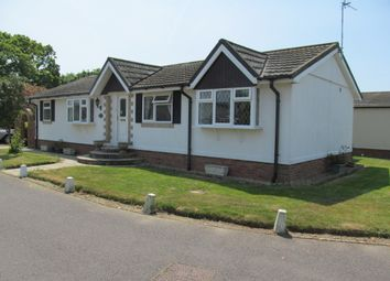 Thumbnail 2 bed mobile/park home for sale in Mill Farm Estate, Pagham, Bognor Regis, West Sussex