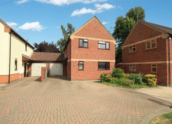 Thumbnail 3 bed link-detached house for sale in Old Ipswich Road, Claydon, Ipswich