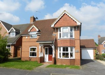 Thumbnail 3 bedroom detached house to rent in Waterlee Furlong, Brixworth, Northampton
