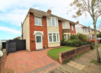 Thumbnail 3 bed semi-detached house for sale in Arles Road, Ely, Cardiff