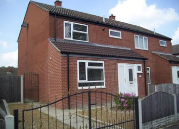 Thumbnail 3 bed semi-detached house to rent in Norbreck Road, Askern, Doncaster