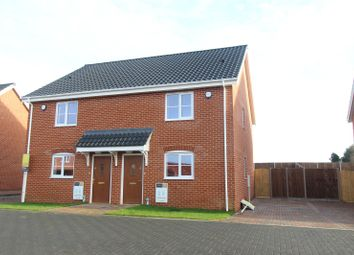 Thumbnail 2 bed semi-detached house for sale in Plot 10, Barn Owl Close, Off Station Road, Reedham
