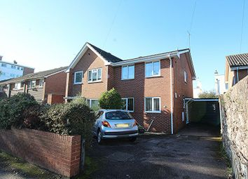 Thumbnail 3 bed semi-detached house for sale in Barrack Road, St. Leonards, Exeter