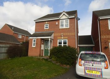 Thumbnail 3 bed detached house to rent in Impey Close, Leicester