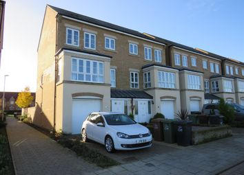 Thumbnail 4 bed town house for sale in Park View, Corby