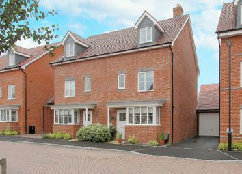 Thumbnail 4 bedroom semi-detached house for sale in Adams Road, Picket Piece, Andover