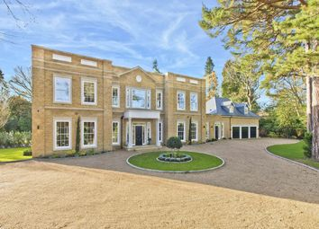 Thumbnail 6 bed detached house for sale in East Road, St. Georges Hill, Weybridge