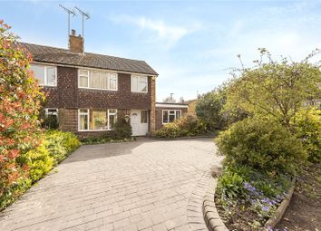 Thumbnail 3 bed semi-detached house for sale in Manland Way, Harpenden, Hertfordshire
