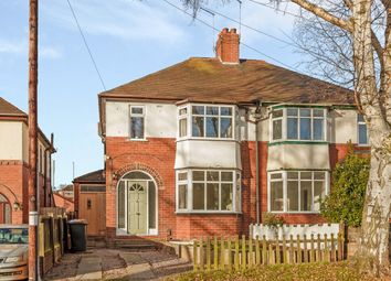 Thumbnail 3 bed semi-detached house for sale in Lincoln Avenue, Newcastle, Staffordshire