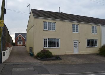 Thumbnail 5 bedroom semi-detached house for sale in Chapel Road, Three Crosses, Swansea