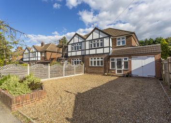Thumbnail 4 bed semi-detached house for sale in Tattenham Way, Burgh Heath, Tadworth