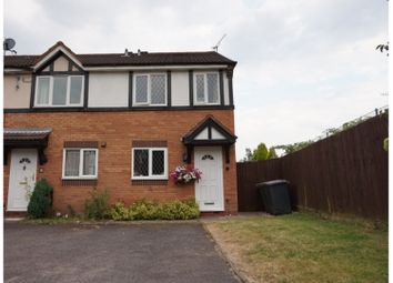 Thumbnail 2 bed end terrace house for sale in Rochester Close, Nuneaton