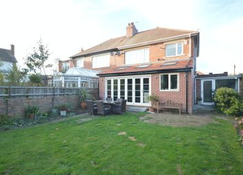 Thumbnail 3 bed semi-detached house for sale in Hartburn Road, North Shields
