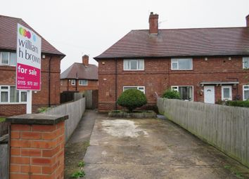Thumbnail 2 bedroom end terrace house for sale in Ravensworth Road, Bulwell, Nottingham