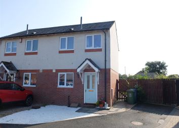 Thumbnail 2 bed semi-detached house for sale in Nook Lane Close, Dalston, Carlisle