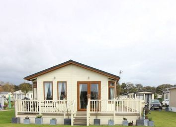 Thumbnail 2 bed lodge for sale in The Roost, The Oval, Brooklyn Caravan Park