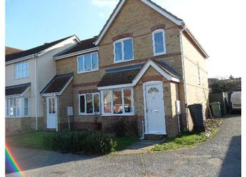Thumbnail 2 bedroom end terrace house to rent in Wrights Way, Leavenheath, Colchester