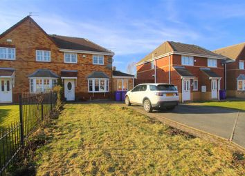 Thumbnail 3 bed semi-detached house for sale in Leo Close, Dovecot, Liverpool