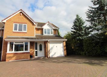Thumbnail 4 bed detached house for sale in Stewart Close, Burton On Trent