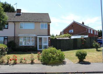 Thumbnail 3 bed semi-detached house for sale in Grange Avenue, Duston, Northampton, Northamptonshire
