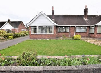 Thumbnail 2 bed semi-detached bungalow for sale in Extended Bungalow On Cornwall Close, Congleton, No Chain