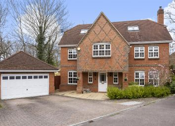 Thumbnail 5 bed detached house for sale in Morris Rise, Chineham, Basingstoke