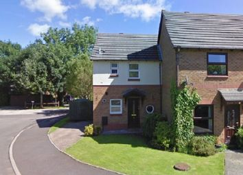 Thumbnail 2 bedroom end terrace house for sale in St. Illtyds Close, Brackla, Bridgend County.