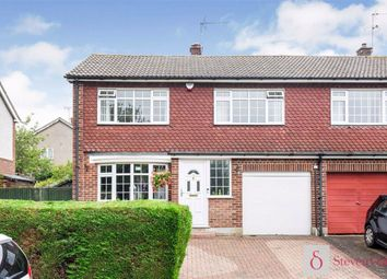 Thumbnail 3 bed semi-detached house for sale in The Ridgeway, Ware, Hertfordshire