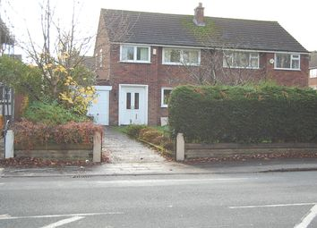 Thumbnail 3 bedroom semi-detached house to rent in Edge Lane, Stretford