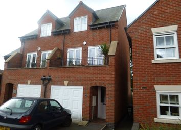 Thumbnail 3 bed semi-detached house to rent in Underwood Court, Glenfield, Leicestershire