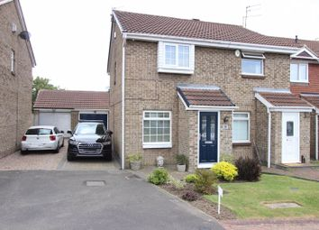 Thumbnail 2 bed semi-detached house for sale in Sunnybrow, New Silksworth, Sunderland