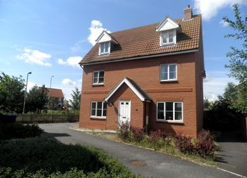 Thumbnail 5 bed detached house to rent in Chaffinch Road, Bury St. Edmunds