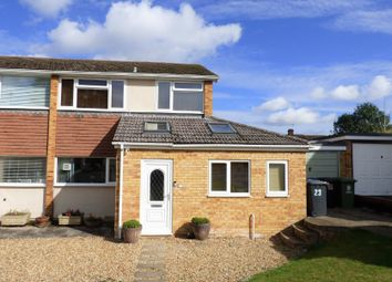 Thumbnail 3 bed semi-detached house to rent in Greenbanks, Melbourn, Herts