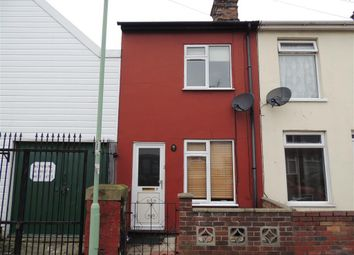 Thumbnail 2 bed end terrace house to rent in Stanford Street, Lowestoft