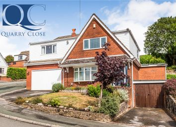 Thumbnail 5 bed detached house for sale in Quarry Close, Werrington, Stoke-On-Trent
